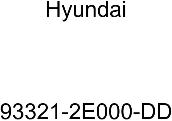 Genuine Hyundai 93321-2E000-DD Console Switch Mounting Bezel