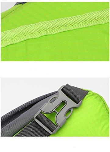 bolsa de de de orange gran a resistente Bolso green de poliéster pecho de de tela de prueba mensajero mensajero capacidad viaje desgaste bolsa agua de al HEn1nxF