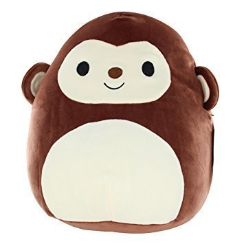 Kellytoy Squishmallow 16'' Milly The Monkey Super Soft Plush Toy Pillow Pet Animal Pillow Pal Buddy ()