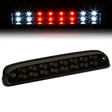 Ford F-250 / 350 / 450 / 550 SD LED High Mount Rear 3rd Third Brake Light (Black Housing / Smoked Lens)