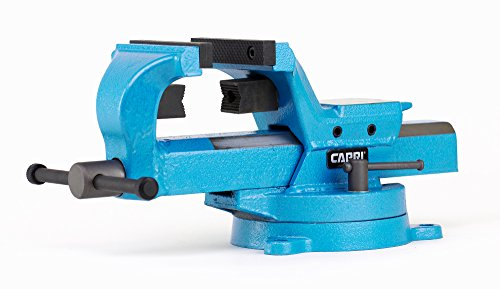 Capri Tools 10515 Ultimate Grip Forged Steel Bench Vise, 4