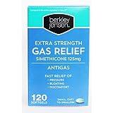 Berkley Jensen Extra Strength Gas Relief Softgels, 120 ct.