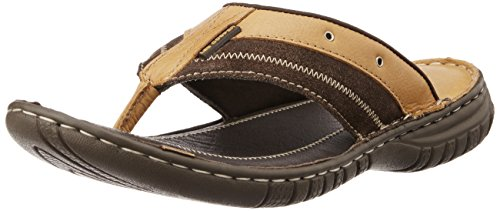 4627ce9fc0db Lee Cooper Men s Leather Flip Flops Thong Sandals  Buy Online at Low Prices  in India - Amazon.in
