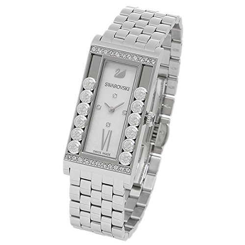 Swarovski Lovely Crystal Square Stainless Steel Watch (model 5096682)