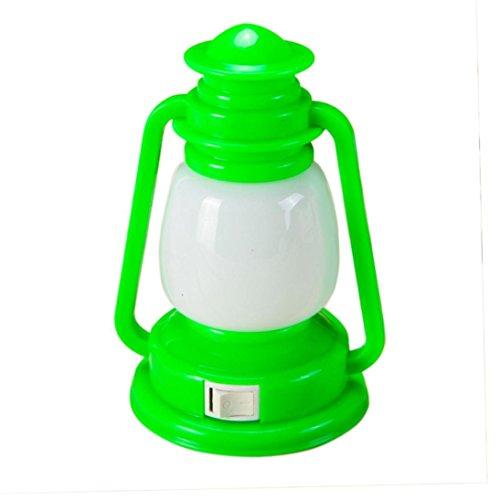 LiPing Retro Ship Lights Creative Nightlight Light (Green)