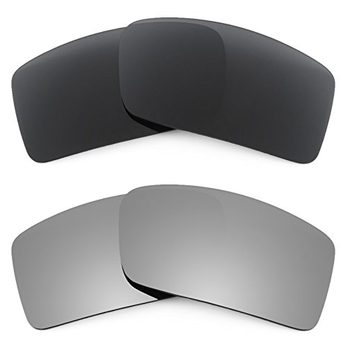 Revant Replacement Lenses for Oakley Gascan Small 2 Pair Combo Pack - Gascan Okley