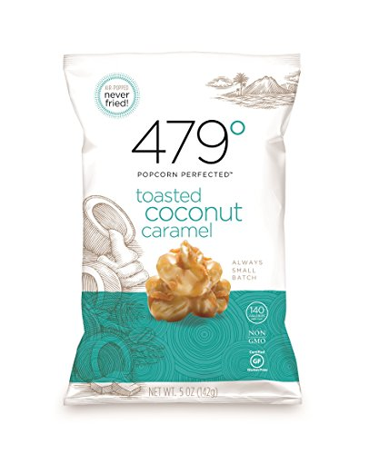 toasted coconut popcorn - 1