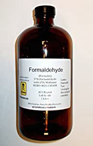 37% Formaldehyde 1000ml (1 Liter, Approx 1 Quart) Shipped Fast ONLY to Lower USA 48 States.