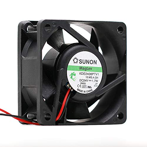 for SUNON KDE2406PTV1 6025 6CM 24V 1.7W Two-Wire Inverter Cooling Fan ()