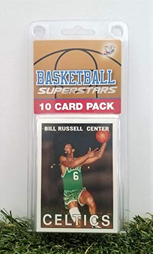 - Bill Russell- (10) Card Pack NBA Basketball Superstar Russell Starter Kit all Different cards. Comes in Custom Souvenir Case! Perfect for the Russell Super Fan! by 3bros