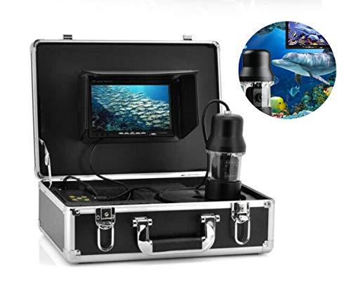 Love sports Cámara de Movimiento, 100m Profundidad cámara subacuática 360 Grado vigilancia rotativa, Sistema de Pesca...