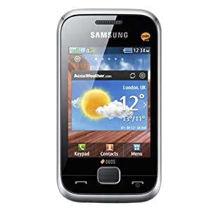 Samsung GT-C3312 Cellphone - Unlocked Phone - US Warranty - Silver