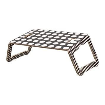 Ikea Soporte para portátil Mesa bräda Plegable en 2 Colores Negro-Blanco: Amazon.es: Informática