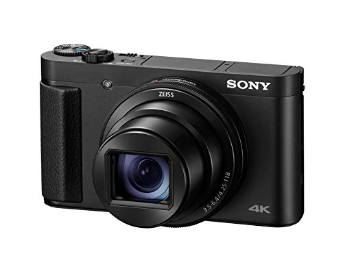 Sony DSC-HX99 Compact Digital 18.2 MP Camera with 24-720 mm Zoom, 4K and Touchpad – Black