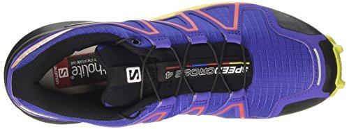 Salomon Speedcross 4 W, Chaussures de Trail Femme Violet (Spectrum Blue/sulphur Spring/fiery)