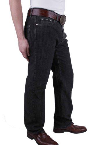 Nero Texas Pantaloni Gessato Jeans Boss Hugo Uomo qaXRI