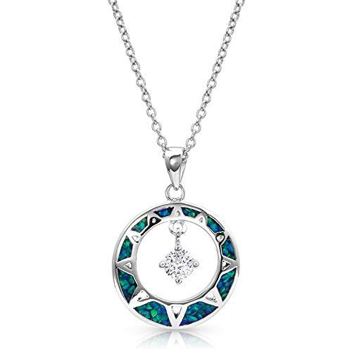 - Montana Silversmiths Stay True Opal Necklace