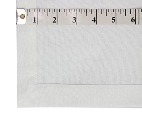 Cotton Craft Napkins, 12 Pack Oversized Dinner Napkins 20x20 White, 100% Cotton, Tailored with Mitered corners and a generous hem, Napkins are 38% larger than standard size napkins by Cotton Craft (Image #2)