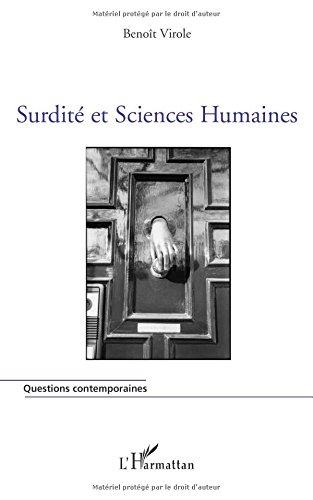 Surdité et Sciences Humaines (French Edition) pdf