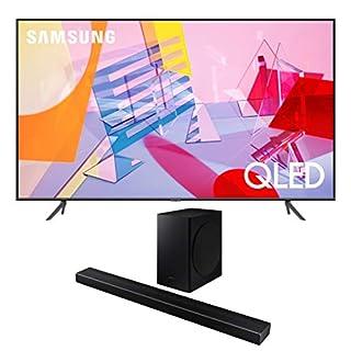 "Samsung QN55Q60TA 55"" Ultra High Definition 4K QLED Quantum HDR Smart TV with a Samsung HW-Q60T Wireless 5.1 Channel Soundbar and Bluetooth Subwoofer (2020)"