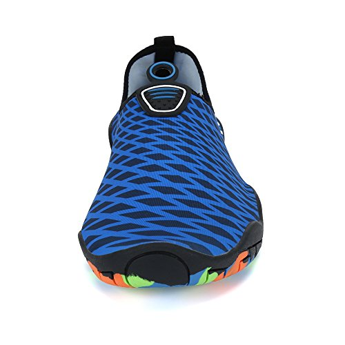 Saguaro Män Kvinnor Snabbtorkande Vatten Skor Tjock Sula Hud Aqua Strumpor Barfota För Stranden Yoga Övning Mörkblå