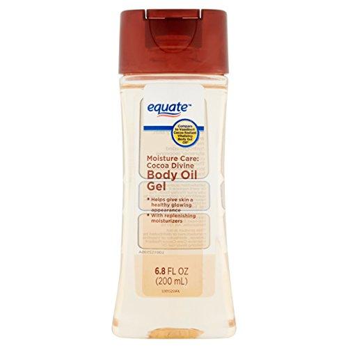 Equate Moisture Care Cocoa Divine Body Oil Gel, 6.8 fl oz