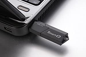 SmartQ C307 USB 3.0 Portable Card Reader for SD, SDHC, SDXC, MicroSD, MicroSDHC, MicroSDXC, with Advanced All-in-One Design (Color: Black)