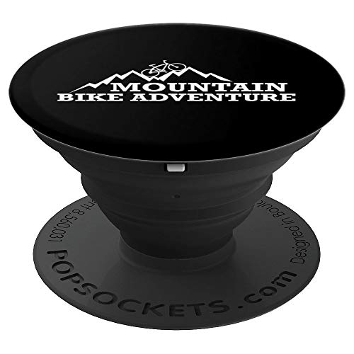 Mountain Bike Adventure Camping - PopSockets Grip and Stand for Phones and Tablets