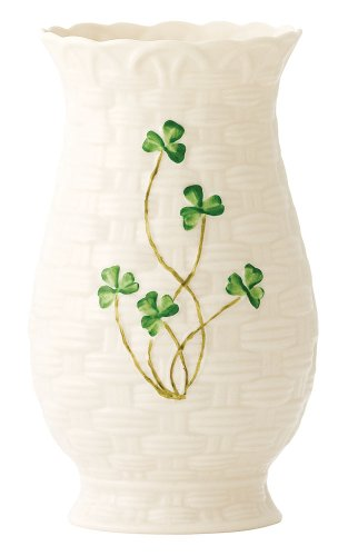 Belleek 2675 Kylemore Vase, 7-Inch