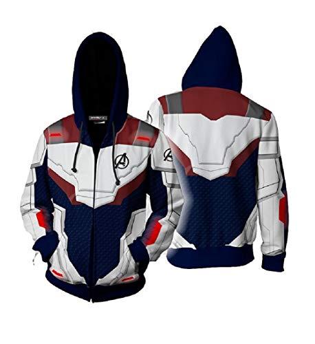 Cosplay Hooded Sweatshirt Superhero Clothing Unisex Adult
