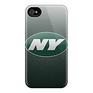 Perfect Cell-phone Hard Covers For Iphone 6plus With Unique Design Vivid New York Jets Series CharlesPoirier