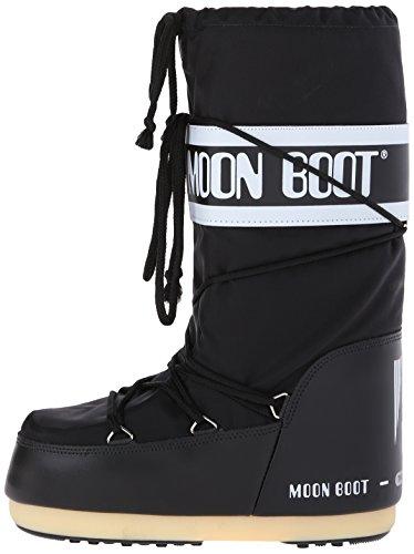 nero De Moon Tecnica Nylon Botas Nieve Boot Unisex Negro Adulto qTwSz6