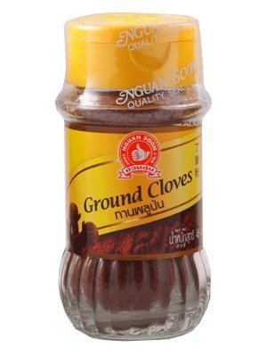 Nguan Soon Ground Cloves 45g (1.59 Oz) Product From Thailand