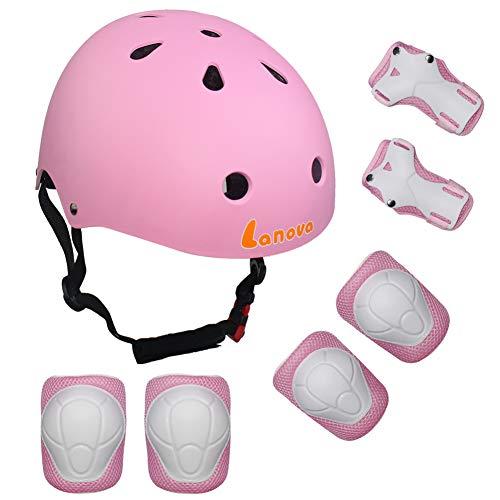 LANOVAGEAR Kids Child Adjustable Cycling Bicycle Protective