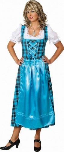 Traditionelles Dirndl Kostüm - blau