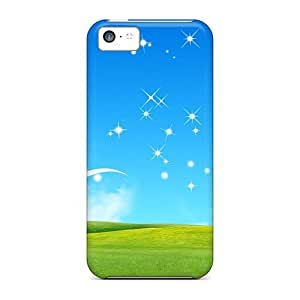 Perfect Shining Sky Case Cover Skin For Iphone 5c Phone Case