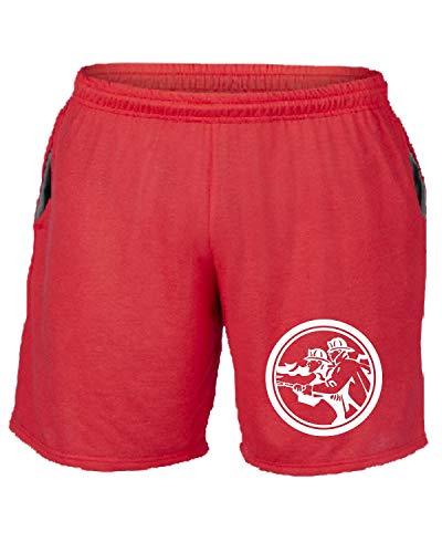 Fire T Pantaloncini shirtshock Fighter Tuta Fun1429 Rosso TxZXxWn
