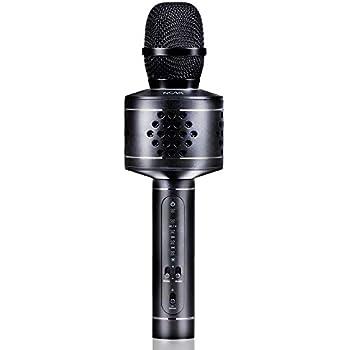 Amazon.com: Wireless Bluetooth Karaoke Microphone, MIANOVA