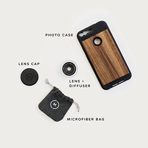 Google Pixel Case with Macro Lens Kit || Moment Walnut Wood Photo Case plus Macro Lens || Best google macro attachment lens with thin protective case. by Moment (Image #6)