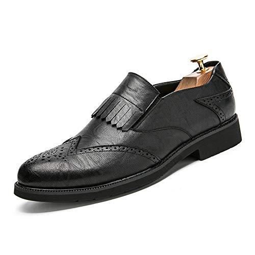 brogue Jiuyue brogue stile 2018 shoes Scarpe retr britannico classico a twrwRX