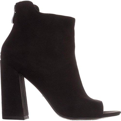 Bar III B35 Adalyn Peep Toe Booties - Black wFE1eF9G