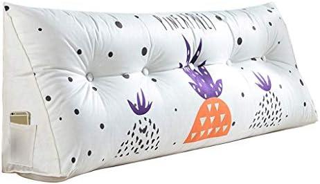 柔らかいダブルベッド、背もたれの位置決め補助具、混合枕、洗える多機能、4、5サイズ(色:B、サイズ:120 cm)に囲まれた三角形のベッド