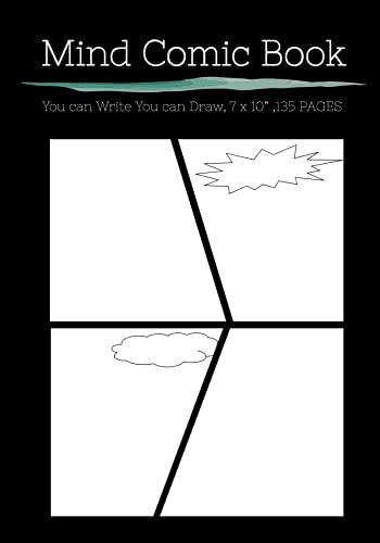 Mind Comic Book - 7 x 10