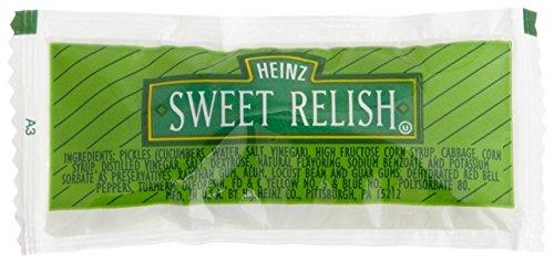 Heinz Sweet Relish Single Serve, 9 gm (Single serve condiments) Pack of 200