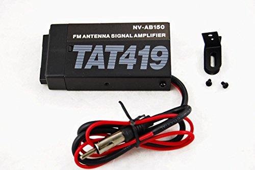 Novosonics NS-AB150 15dB Stereo FM Antenna RF Signal Booster Pre Amplifer ()