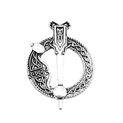 a0040f60fac7e Amazon.com: FITIONS - New Arrivals Outlander Brooches Thistle Celtic ...