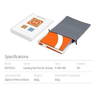 PGYTECH Portable Foldable Landing Pad for DJI Mavic Air&Pro/Spark/Phantom/Xiaomi Drone Quadcopter Parts Drone Accessories: Toys & Games