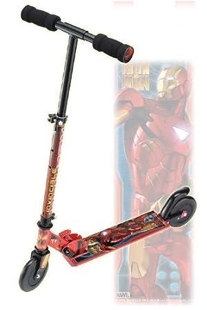 Patinete Iron Man 2 en línea: Amazon.es: Juguetes y juegos