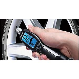 Michelin MN-4535B Digital Programmable Tire Gauge with Bleed Valve