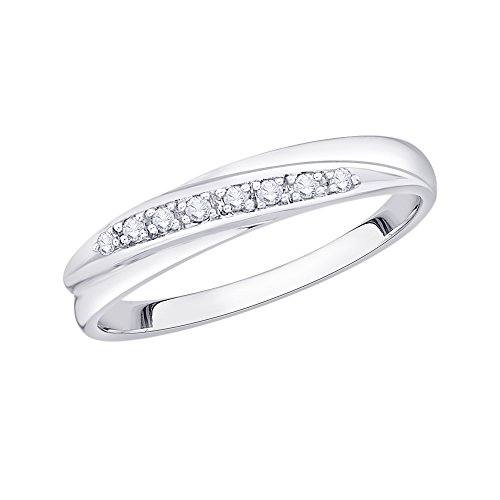 Diamond Accent Band Ring - 8